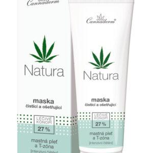 Cannaderm Natura - Maska oczyszczająca