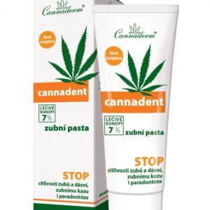 Cannaderm Cannadent - Pasta do zębów konopna
