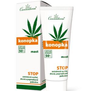 Cannaderm Konopka - Maść do skóry bardzo suchej