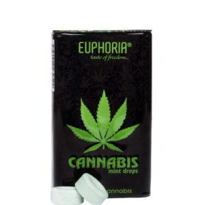 Euphoria - Dropsy konopno-miętowe 25g