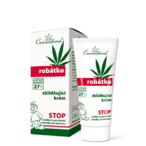 Cannaderm Robatko - Krem kojący o lekko kwaśnym pH - Seria dla dzieci