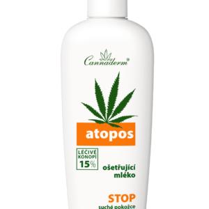 Cannaderm Atopos - Mleko do ciała (AZS i łuszczyca)