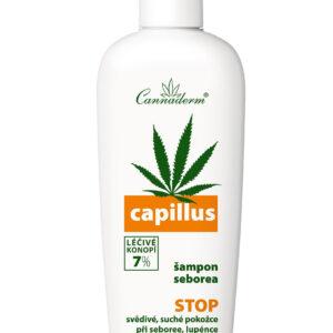 Cannaderm Capillus - Szampon na problemy łojotokowe