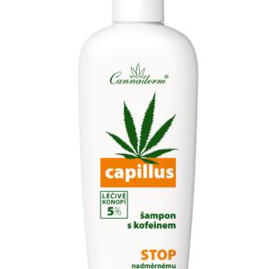 Cannaderm Capillus z kofeiną - Szampon przeciw wypadaniu włosów