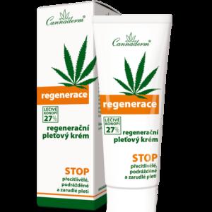 Cannaderm Regenerace - Krem regeneracyjny