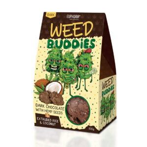 Euphoria - Czekoladki Weed Buddies Dark 100g