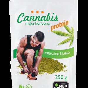 Cannabis - Mąka konopna - Proteiny