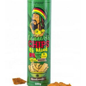 Chipsy - Cannabis Chips of Mind Tuba 100g - Wegańskie - Delikatnie pikantne
