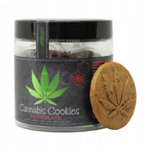 Euphoria - Ciastka Cannabis Cookies Chocolate 120g
