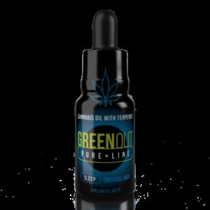 Olejek CBD Greenout Sleep Critical Jack XL