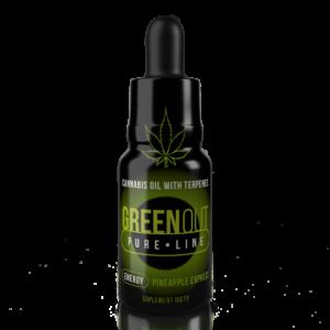 Olejek CBD Greenout Energy Pineapple Express XL