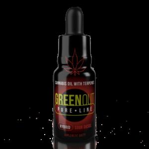 Olejek CBD Greenout Hybrid Sour Diesel XL