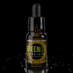 Olejek CBD Greenout Energy Super Lemon Haze Mini