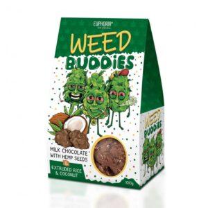 Euphoria - Czekoladki Weed Buddies Milk 100g