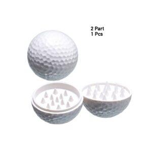 Młynek dwuczęściowy piłka golfowa