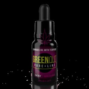 Olejek CBD Greenout Energy Amnesia Haze Mini